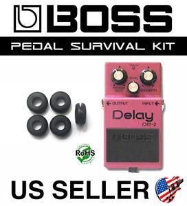 BOSS DM-2 DM-3 Delay Guitar Pedal Grommet Survival Kit Rubber O-Ring (5 PACK)