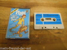 Tape Kinder Lindgren : Pippi Langstrumpf geht an Bord (ab 5 Jahre ) PHILIPS