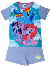 Girls Pyjamas My Little Pony Pajamas Best Friends MLP Pjs Shorty 4 to 10 Years