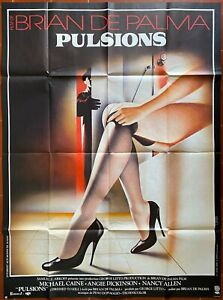 Poster Impulses Dressed To Kill Brian De Palm Angie Dickinson 47 3/16x63in