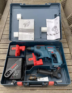 Bosch GBH Professional 24v SDS-Plus Rotary Hammer Drill Bundle Boxed + Extras
