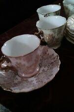 Royal stylish  tea cups and saucers sets THAMES vintage elegant  dishware lot