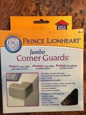 Prince Lionheart 4 Pack Cushiony Jumbo Corner Guards in Beige / Tan