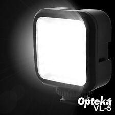 Opteka VL-5 LED Studio Travel Video Light for Digital DSLR Camera DV Camcorder