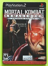 Mortal Kombat: Armageddon: Premium Edition Steelbook (Sony PlayStation 2, 2006)