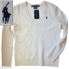 NWT Ralph Lauren Sport Cable Knit Merino Wool Sweater Size L