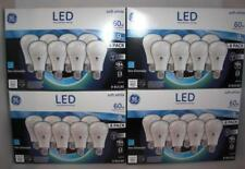 LOT 16 GE LED BULBS 60W = 9W Soft WHITE Non-Dimmable 2-packs (NEW***L@@K)