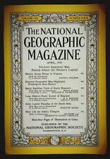 National Geographic Magazine (APRIL 1956)