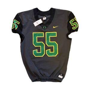 Nike Oregon Ducks Custom Vapor Untouchable Football Jersey Men's L 845914