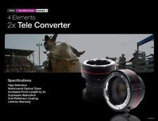 2x AutoFocus Tele Converter for CANON EOS EF lenses