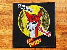 Sex Pistols Sew On Patch Iron Embroidered Punk Rock Band Heavy Metal Music Logo