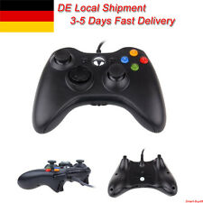 Controlador USB Gamepad con cable para Microsoft Xbox 360 y Slim PC Windows 7