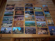 26 Views of the Holy Land Souvernir Postcards - Jerusalem Bethlehem Gaza & More