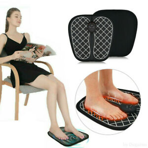 Electric Foot Massager Pad Feet Muscle Stimulator Relieve Ache Pain Health Care
