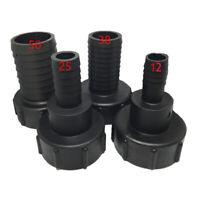 12mm, 25mm,38mm,50mm 1000L Réservoir D'eau Jardin Tuyau Adaptateur Raccord Outil