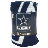 """New NFL Dallas Cowboys Star Logo Soft Fleece Throw Blanket 50"""" X 60"""""""