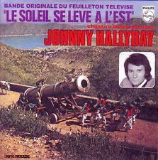 ☆ CD Single Johnny HALLYDAY - Soundtrack : Le soleil se lève a l'est  NEUF RARE