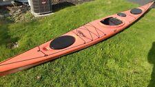 Valley Aquanaut Rm Lv Sea Kayak Used*Good*+Seals SpraySkirt*Harmony Paddle*Skeg