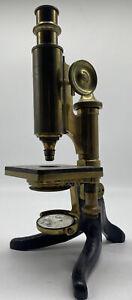 Antikes Labormikroskop E. Hartnack Potsdam