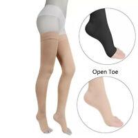 Medical Compression Socks Knee High Stocking Leg Thigh Sleeve30-40mmHg Open Toe