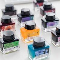 Bunte Füllfederhalter-Tinten-Blumen-Reihen-Stift-Tinten-Geschenke für Freunde