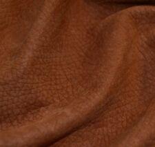48 sf 2.5 oz Brown nubuck GARRET Upholstery Cow Hide Furniture Leather Skin e7dg