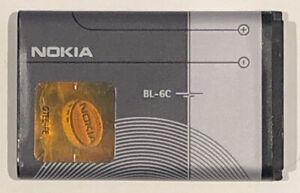 Official Nokia BL-6C Original Replacement Battery 1150mAh