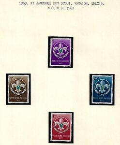 Maldive Islands: 4 sets complete tematica Boy Scouts, Mint hinged, EBMD04