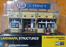 Woodland Scenics HO #5050 J. Frank's Grocery - Built & Ready Landmark Structures
