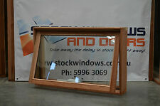 Timber Awning Window 596h x 929w - Double Glazed (BRAND NEW) IN STOCK NOW