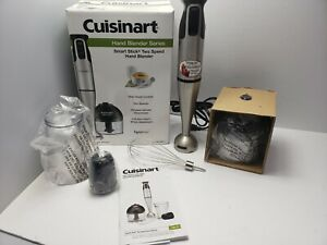 Cuisinart Smart Stick Hand Blender W/ Whisk & Chopper Attachments CSB-79