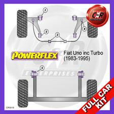 Fiat Uno inc Turbo (1983-1995)  Powerflex Complete Bush Kit