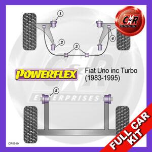 Fits Fiat Uno inc Turbo (1983-1995)  Powerflex Complete Bush Kit