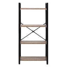 4-Tier Bookcase Shelving Rack Storage Shelf Shoes Organizer Plant Display Home