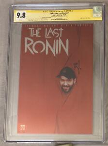 TMNT: The Last Ronin #1 B-Hole Metal Variant CGC SS 9.8 BISHOP #'d 35/50! RARE!