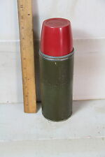 Vintage Thermos green with cork
