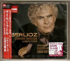 H. Berlioz / S. Rattle - Symphonie Fantastique . EMI Japan CD SEALED !!!