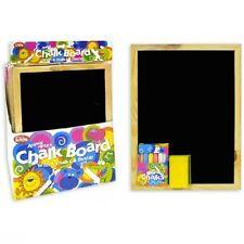 A4 el borrador para pizarrón Niños Divertido Kids Negro Tiza Board seco LIMPIE Blackboard Goma Set