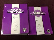 2003 Chevrolet Chevy GEO TRACKER Service Shop Repair Workshop Manual Set OEM