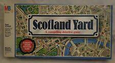 SCOTLAND YARD Board Game Milton Bradley 1980s 100% Complete