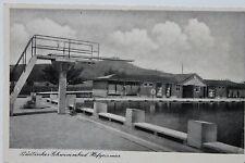10044 AK Hofgeismar Schwimmbad Sprung Turm Bade Haus 1941 Feldpost Briefstempel