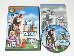The Sims Life Stories PC Game 2007 Complete DVD-ROM
