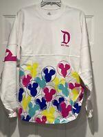 NWT Disneyland Mickey Balloon Spirit Jersey Size XS