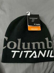 Brand New Columbia Titanium DWR Beanie Hat CU0138-010 - One Size Black