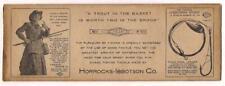 Fishing Tackle Envelope c1920-30's~Horrocks-Ibbotson Co~Utica,NY~Fisher Woman