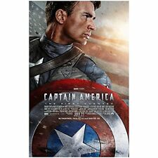 Chris Evans is Captain America The First Avenger 11 x 17 Poster Litho