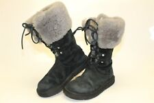 UGG Australia Montclair 1892 Womens 5 36 Suede Lace Up Winter Insulated Boots