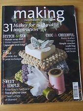 MAKING MAGAZINE ISSUE 56 JAN 2015 NATURAL INSPIRATION MOHAIR WRAP SKIRT FEATHER