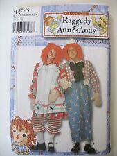 Raggedy Ann & Andy Costume Adult XS-XL Simplicity Pattern 4456 UNCUT
