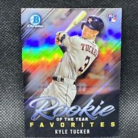 2019 Bowman Chrome Kyle Tucker RC HOUSTON ASTROS Rookie Of The Year Favorite  #1